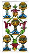 Five of Cups Tarot card in Classic Tarot deck