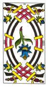 Four of Swords Tarot card in Classic Tarot deck