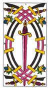 Five of Swords Tarot card in Classic Tarot deck