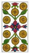 Ten of Pentacles Tarot card in Classic Tarot deck