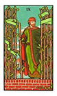 connolly - Nine of Wands