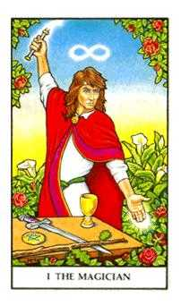 The Magician Tarot Card - Connolly Tarot Deck