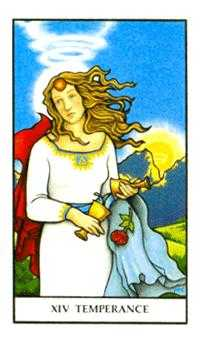 Temperance Tarot Card - Connolly Tarot Deck