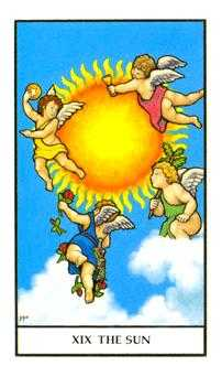The Sun Tarot Card - Connolly Tarot Deck