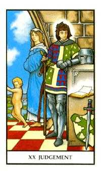 The Judgment Tarot Card - Connolly Tarot Deck