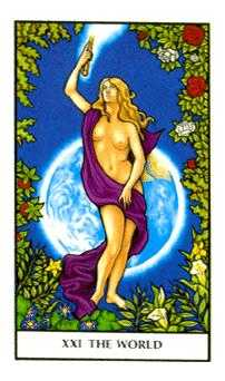 The World Tarot Card - Connolly Tarot Deck