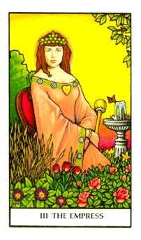 The Empress Tarot Card - Connolly Tarot Deck