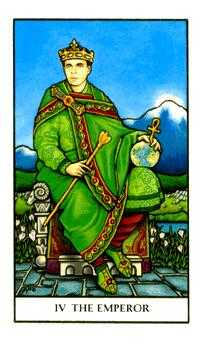 The Emperor Tarot Card - Connolly Tarot Deck