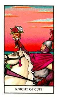 Knight of Cups Tarot Card - Connolly Tarot Deck