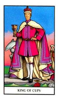 King of Cauldrons Tarot Card - Connolly Tarot Deck