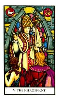 The Hierophant Tarot Card - Connolly Tarot Deck