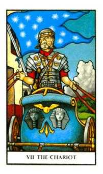 The Chariot Tarot Card - Connolly Tarot Deck