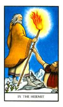 The Hermit Tarot Card - Connolly Tarot Deck