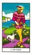 The Fool Tarot card in Connolly deck