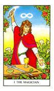 The Magician Tarot card in Connolly deck