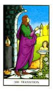 Death Tarot card in Connolly deck