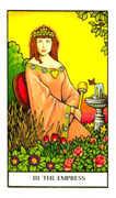 The Empress Tarot card in Connolly deck