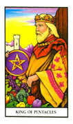 King of Pentacles Tarot card in Connolly deck