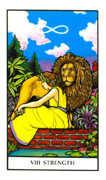 Strength Tarot card in Connolly deck