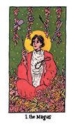 The Magician Tarot card in Cosmic Slumber deck