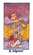 Judgement Tarot card in Cosmic Slumber deck
