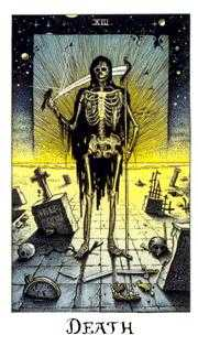 Death Tarot Card - Cosmic Tarot Deck