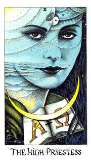 The High Priestess Tarot Card - Cosmic Tarot Deck