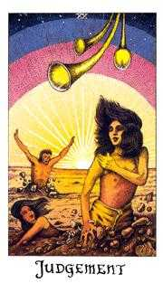 The Judgment Tarot Card - Cosmic Tarot Deck
