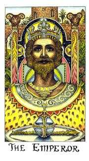 The Emperor Tarot Card - Cosmic Tarot Deck