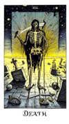 Death Tarot card in Cosmic deck