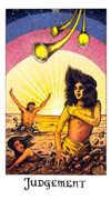 Judgement Tarot card in Cosmic deck