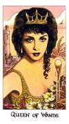 Queen of Wands Tarot card in Cosmic Tarot deck