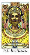 The Emperor Tarot card in Cosmic Tarot deck