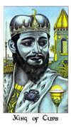 King of Cups Tarot card in Cosmic deck