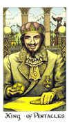 King of Coins Tarot card in Cosmic Tarot deck