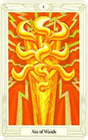 crowley - Ace of Wands