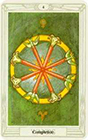 crowley - Four of Wands