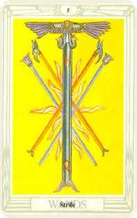 crowley - Five of Wands