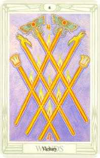 crowley - Six of Wands