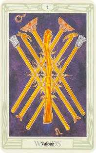 crowley - Seven of Wands