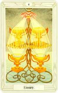 crowley - Four of Cups