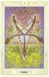 crowley - Five of Swords