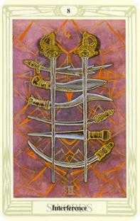 crowley - Eight of Swords