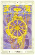 Fortune Tarot card in Crowley Tarot deck