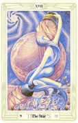 The Star Tarot card in Crowley Tarot deck
