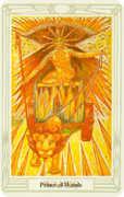 Prince of Wands Tarot card in Crowley Tarot deck