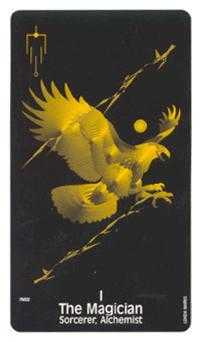 The Magus Tarot Card - Crow's Magick Tarot Deck