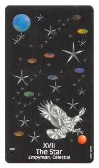 The Star Tarot Card - Crow's Magick Tarot Deck
