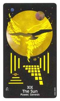 The Sun Tarot Card - Crow's Magick Tarot Deck