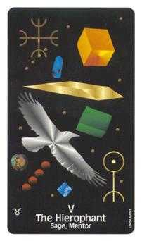 Jupiter Tarot Card - Crow's Magick Tarot Deck